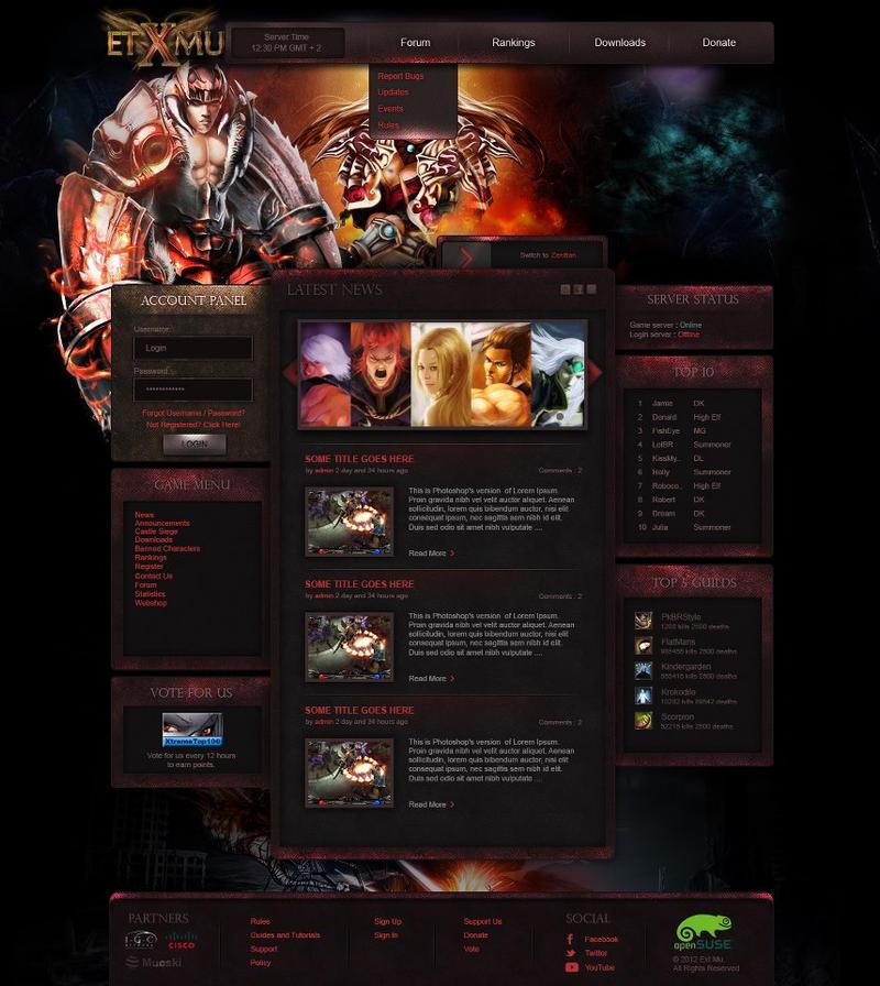 ETX Mu Online by mucski on DeviantArt