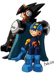Rockman.exe - Teamwork by surusuru