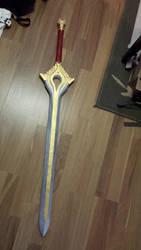 Fire Emblem Awakening: Falchion in progress