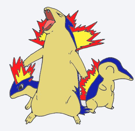 cyndaquil typhlosion quilava - photo #2