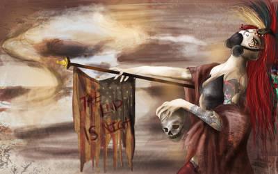 + Mistress Apocalypse + by wolfandelm