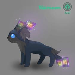 Bismeon - Steel Eeveelution Fakemon by wolfandelm