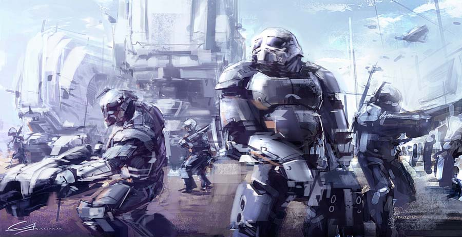 Troopers by Gryphart