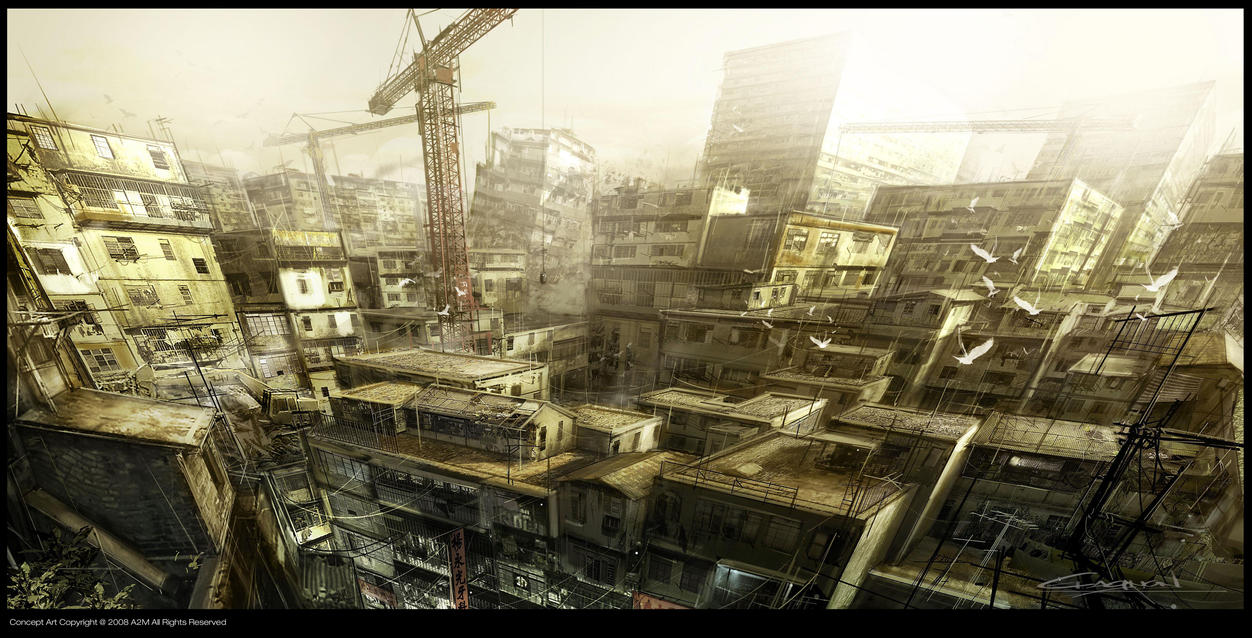 Kowloon by Gryphart