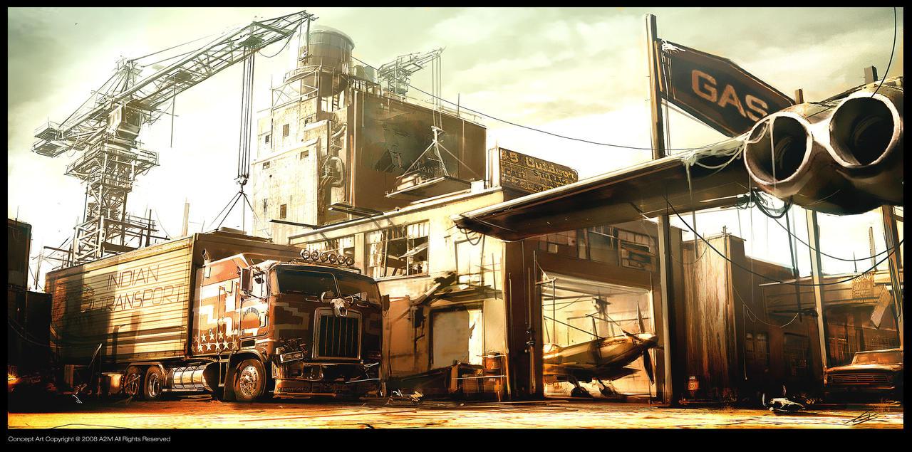Ruby boneyard concept D by Gryphart