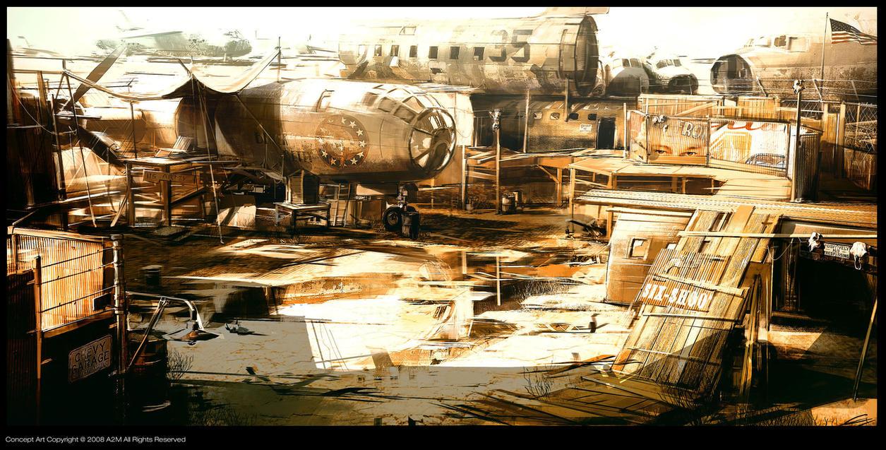 Ruby boneyard concept H by Gryphart