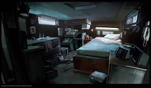 Milo's_Boat_cabine