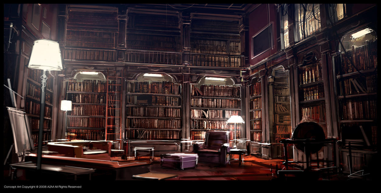 http://pre06.deviantart.net/3f75/th/pre/i/2009/298/8/6/kafka_library_by_gryphart.jpg