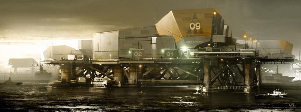 Belltower_SeaBase  Deus Ex 3 DLC