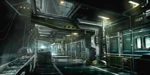 CargoBoat_Exterior Deus Ex 3 DLC