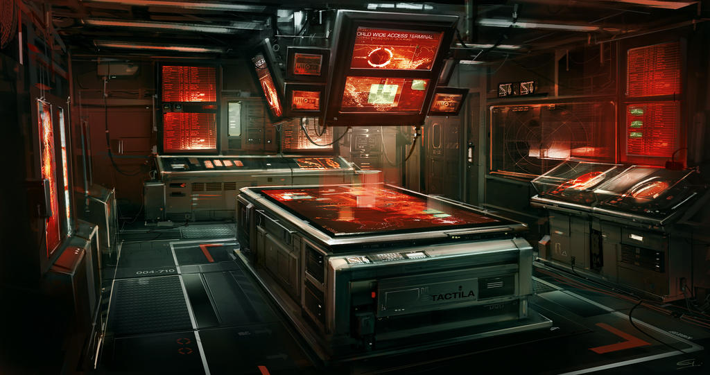 Boat_CIC_Room Deus Ex 3 DLC by Gryphart