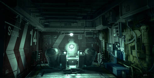Interrogation_Room Deus Ex 3 DLC by Gryphart