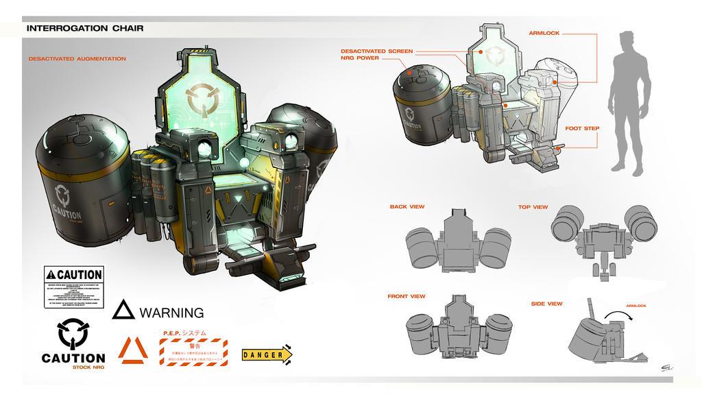 Interrogation_Chair Deus Ex 3 DLC by Gryphart