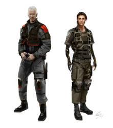 Pieter_Jun Deus Ex 3 DLC by Gryphart