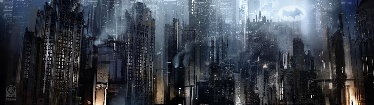 Batman Arkham Origins Gotham City.