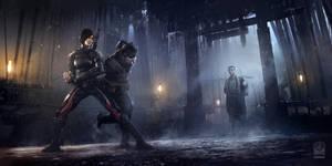 Batman Arkham Origins DLC Initiation Monastery Shi