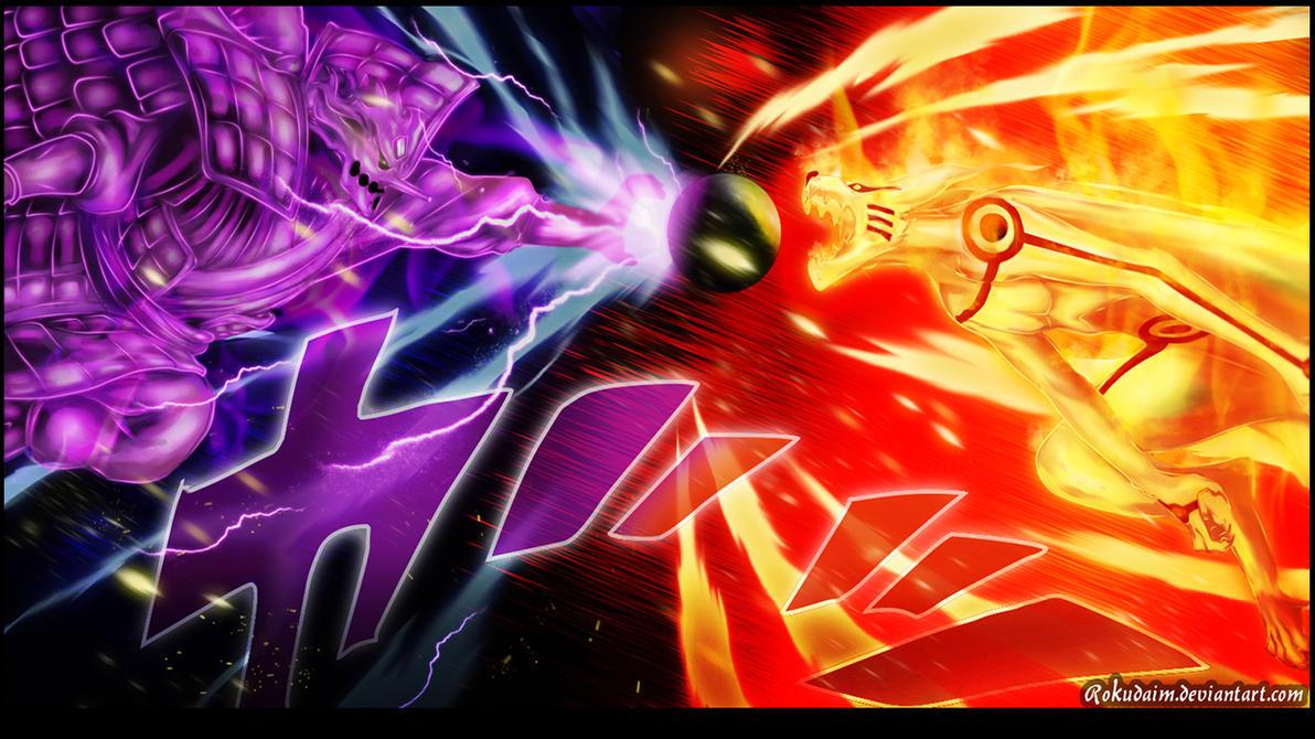 Download Wallpaper Naruto Deviantart - naruto_695_the_clash_by_rokudaim-d82bep9  Pic_257639.jpg