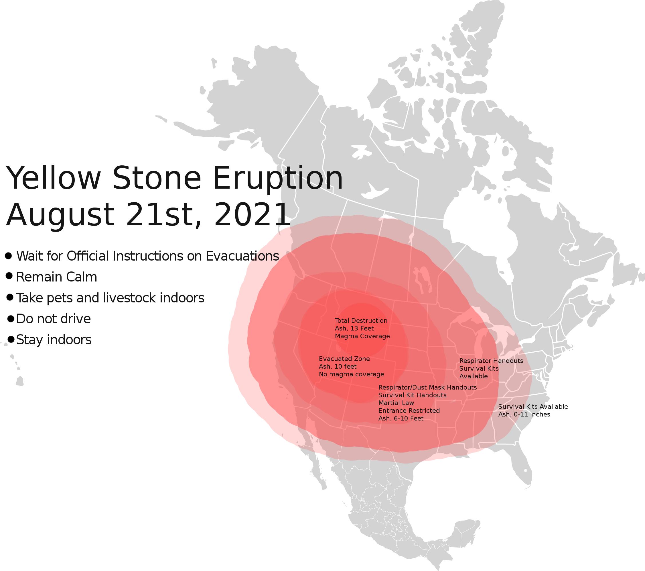 Yellowstone Eruption of 2021 by Mister-Ed-Fan on DeviantArt