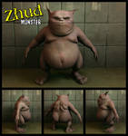 Zhud Monster Texturized