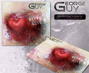 Killer Love, song artwork design for George Guy