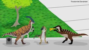 The Isle: Trumpet Hadrosaurs