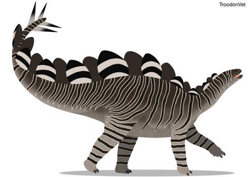 Paleo Drawing: Hesperosaurus mjosi