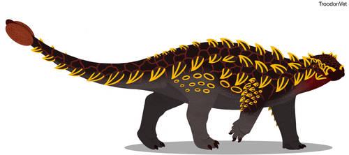 Paleo Drawing: Zuul crurivastator
