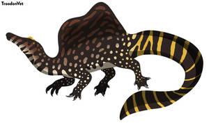 Paleo Drawing: Spinosaurus aegyptiacus