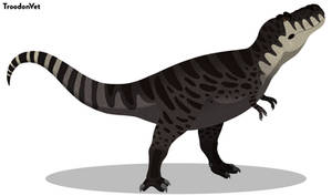 Paleo Drawing: Tyrannosaurus rex