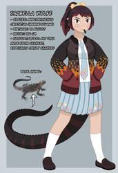 OC: Isabella Wolfe (School Uniform)