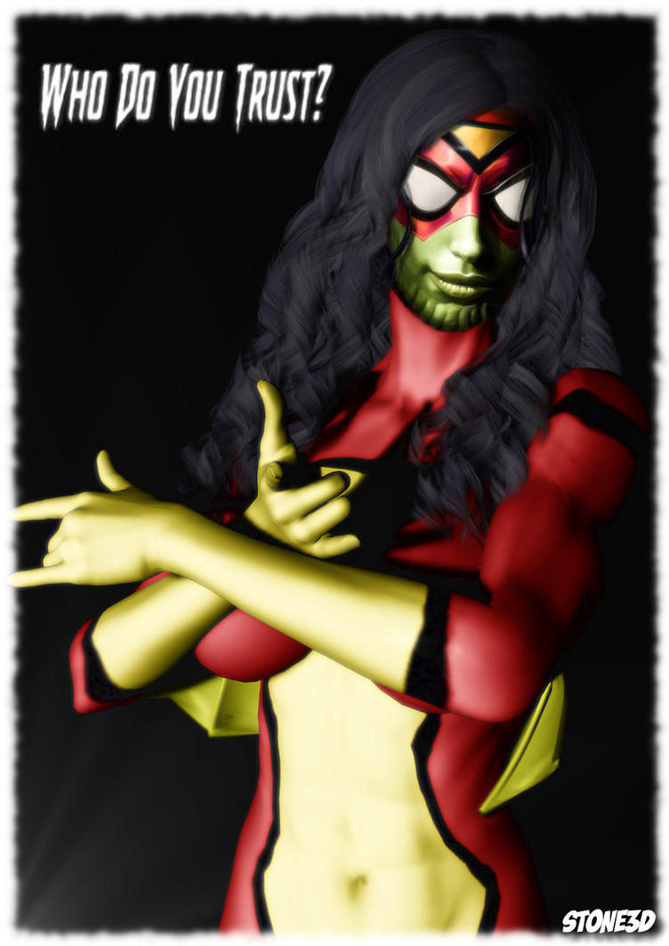Spiderwoman Skrull by MagnusGreel