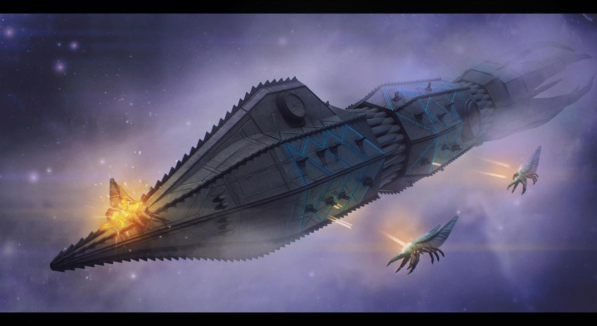 Nautilus Class battleship By Adamkop by CIODemolitions