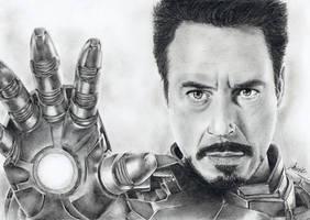 Iron Man by MirieSolem