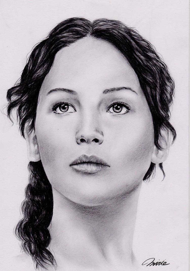 Katniss Everdeen by MirieSolem