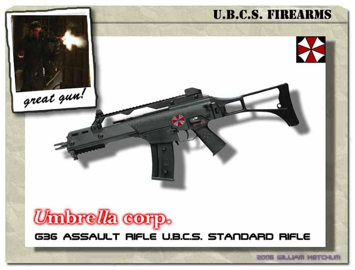 U B C S  Standard G36 Rifle by UBCS-Baltimore on DeviantArt