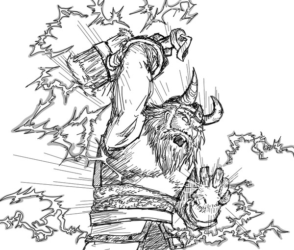 Line Drawing Of Zeus : Dota zeus by windhydra on deviantart