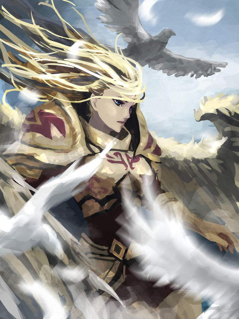 league of legends kayle by windhydra on deviantart