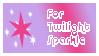 For Twilight Sparkle Stamp by BOBBOBISON