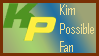 Kim Possible fan stamp by BOBBOBISON