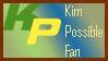 Kim Possible fan stamp by BOBBOBISON