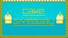 Cake Giveaway Stamp by BOBBOBISON
