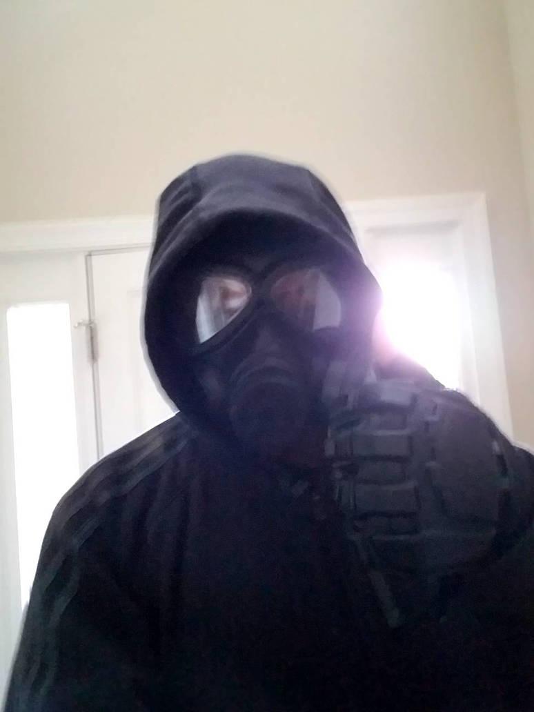 Gas Mask Idiot