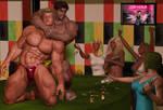M vs. M (We Love Wrestling: Girls Night Out) by Sexylark-AKA-Tasha