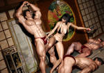 Sexy Asian Battle Babe