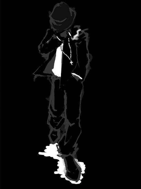 Smoking Man By TigerLing