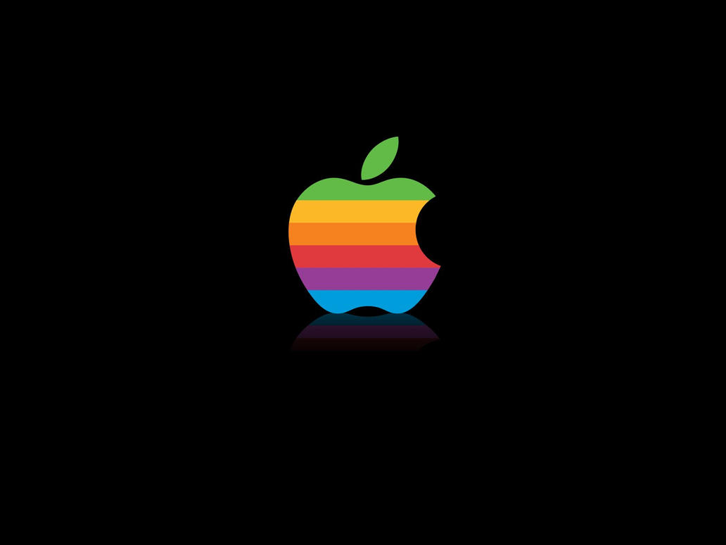 retro apple logo by mcdeesh on deviantart