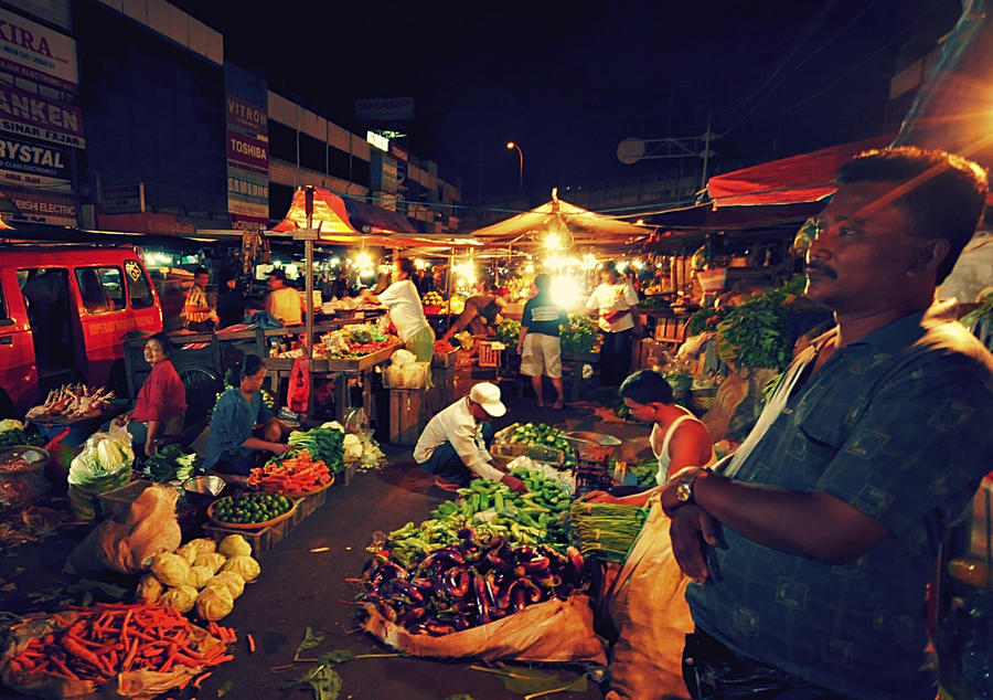 traditional market in jakarta by lovelikerocket