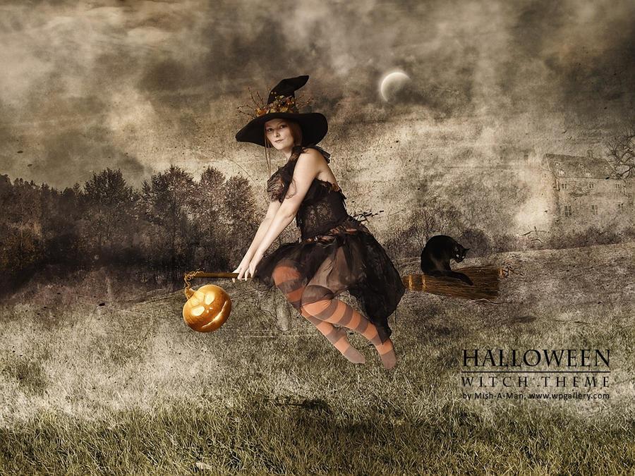 Halloween - Witch theme
