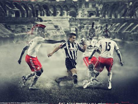 Del Piero vs Rome