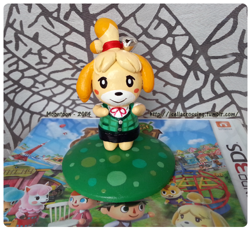 ACNL - Isabelle sculpture by Moontoon